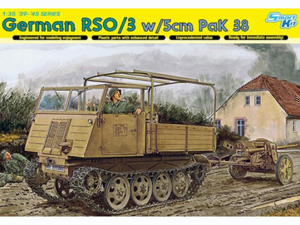 German RSO/3 w/5cm PaK 38  (Vista 1)