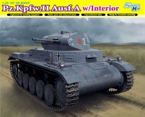 Pz.Kpfw.II Ausf.A w/Interior  (Vista 1)