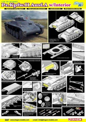 Pz.Kpfw.II Ausf.A w/Interior  (Vista 4)