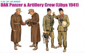 DAK Panzer & Artillery Crew (Libya 1941)  (Vista 1)