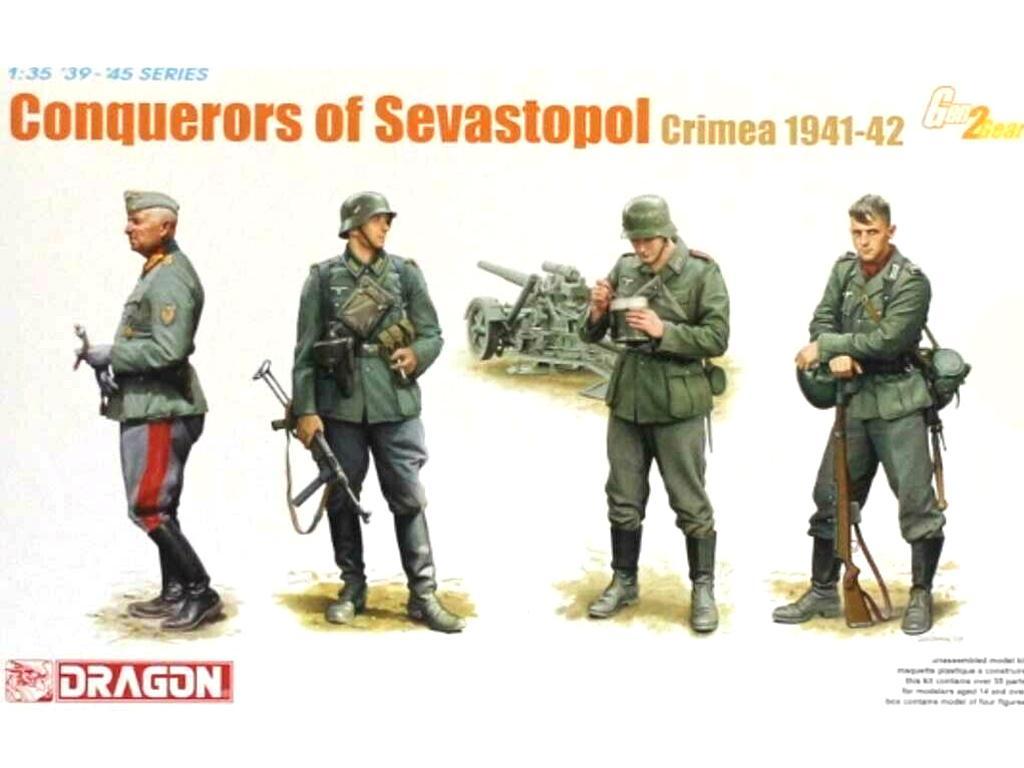 Soldados Alemanes Sevastopol 1941/42  (Vista 1)