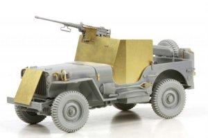 Armored 1/4 Ton 4x4 Truck w/.50-cal Mach  (Vista 2)