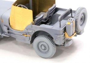 Armored 1/4 Ton 4x4 Truck w/.50-cal Mach  (Vista 5)