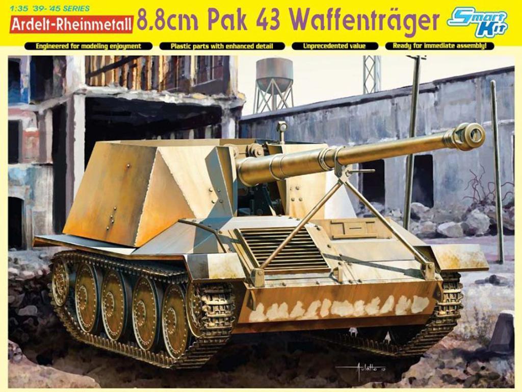 Ardelt-Rheinmetall 8.8cm PaK 43 Waffentr  (Vista 1)