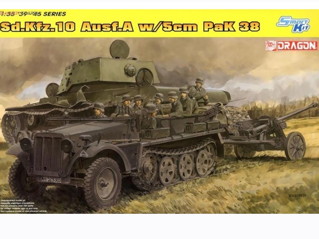 Sd.Kfz.10 Ausf.A w/5cm Pak 38  (Vista 1)