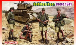 Gebirgsjägers Crete 1941  (Vista 1)