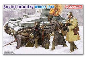 Infanteria Sovietica Invierno 1941  (Vista 1)