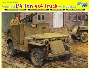 Armored 1/4 Ton 4x4 Truck w/Bazooka  (Vista 1)