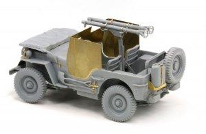 Armored 1/4 Ton 4x4 Truck w/Bazooka  (Vista 3)