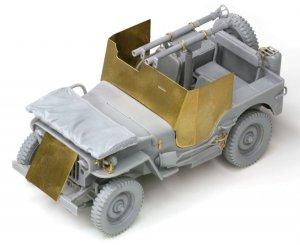 Armored 1/4 Ton 4x4 Truck w/Bazooka  (Vista 4)