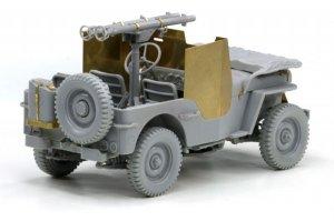 Armored 1/4 Ton 4x4 Truck w/Bazooka  (Vista 5)