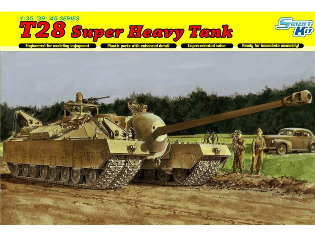 T28 Super Heavy Tank - Ref.: DRAG-6750
