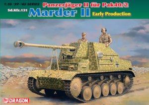 Panzerjager II fur Pak 40/2, Sd.Kfz.131   (Vista 1)