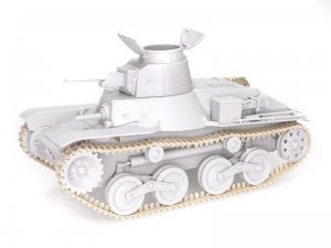 IJN Type95 Light Tank Ha-Go  (Vista 2)