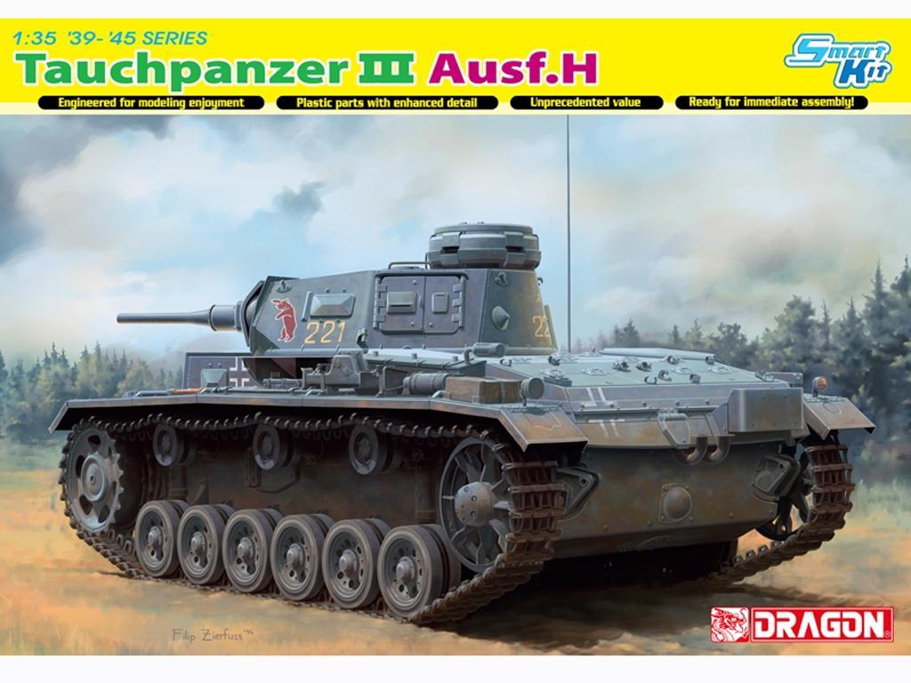 Pz.Kpfw.III als Tauchpanzer Ausf.H  (Vista 1)