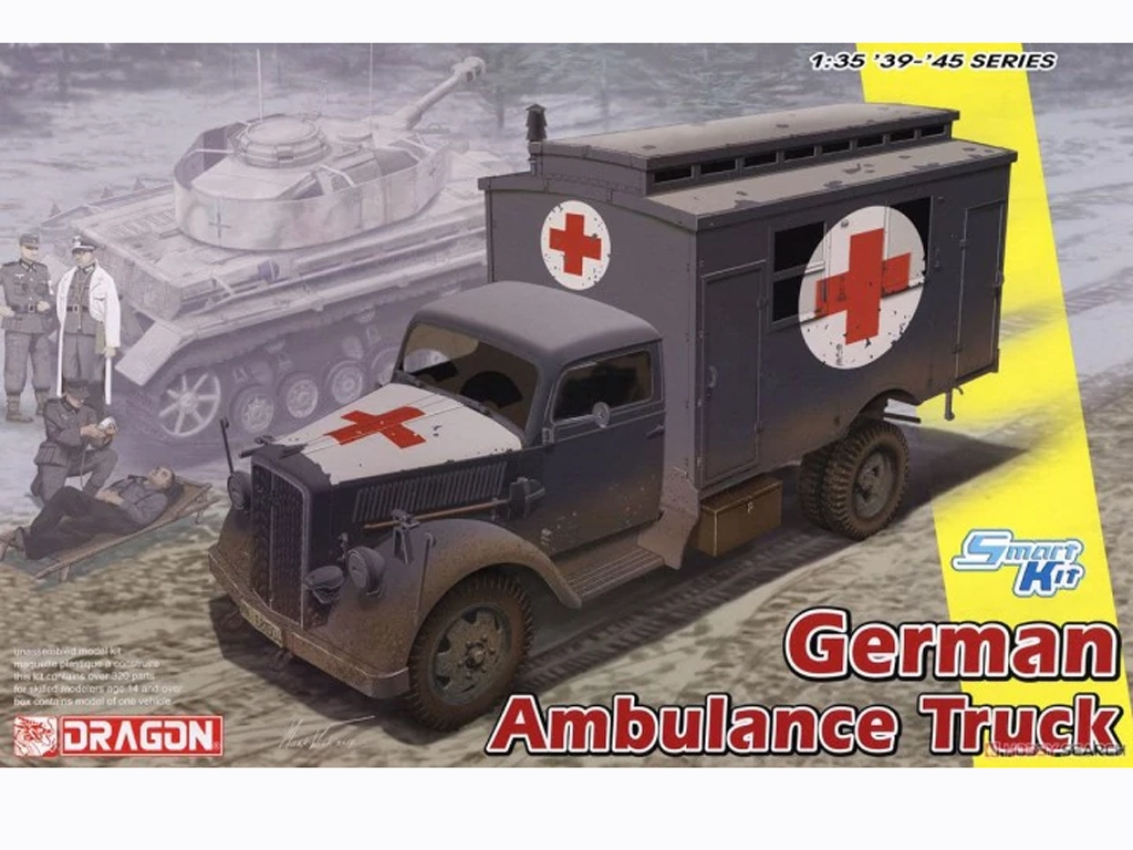 German 3 tons Ambulance Truck  (Vista 1)