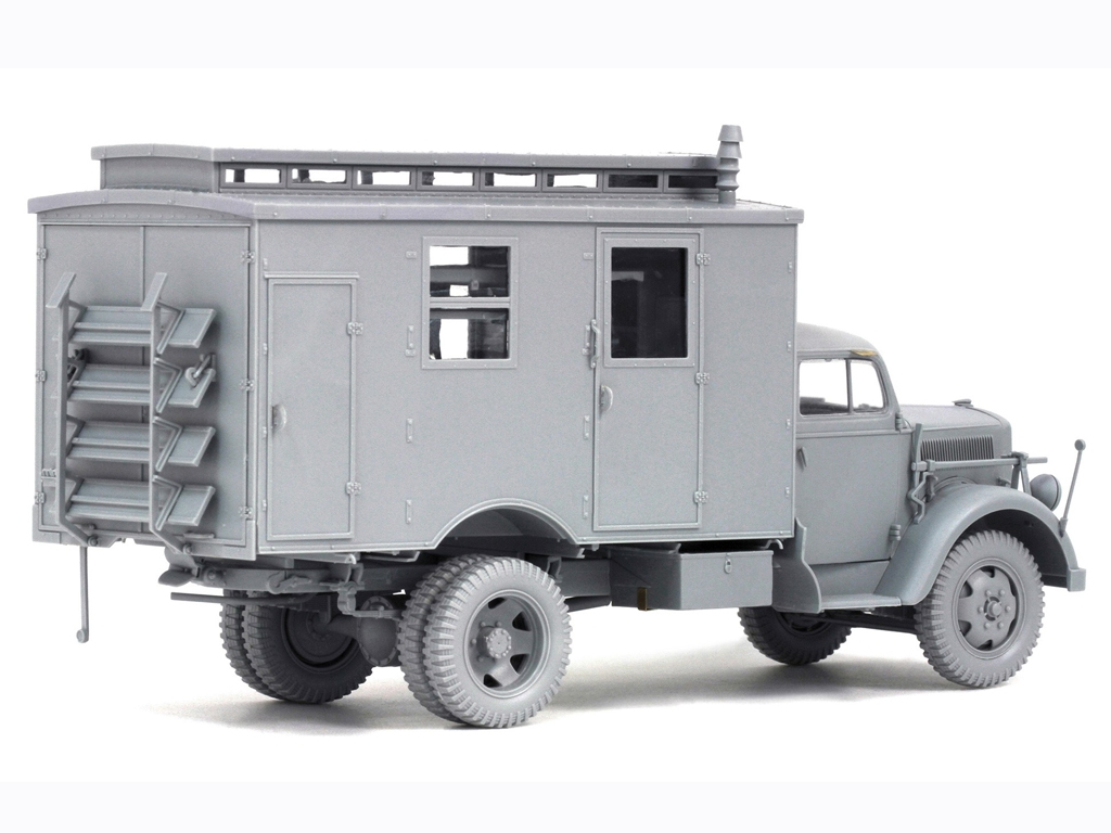 German 3 tons Ambulance Truck  (Vista 3)
