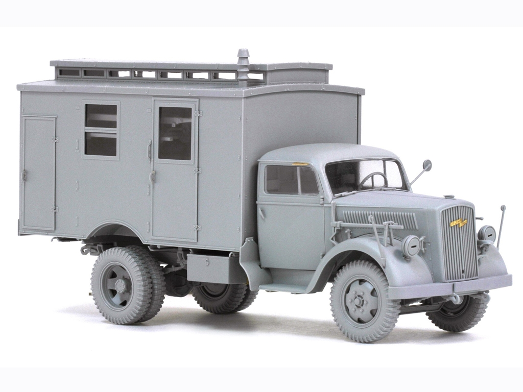 German 3 tons Ambulance Truck  (Vista 4)