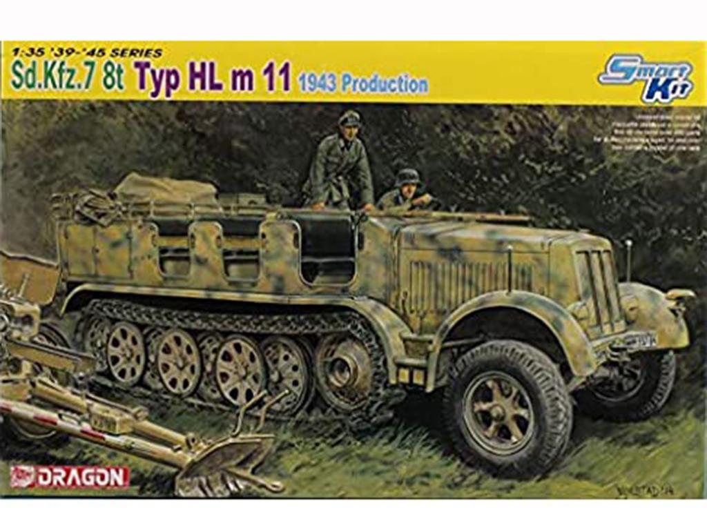 Sd.Kfz.7 8t Typ HL m 11  (Vista 1)