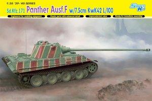 Panther Ausf.F con cañon de 7,5cm. KwK42  (Vista 1)