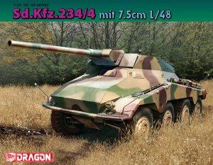 Sd.Kfz.234/4 mit 7.5cm L/48  (Vista 1)