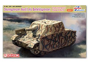Sturmpanzer Ausf.I als Befehlspanzer  (Vista 1)