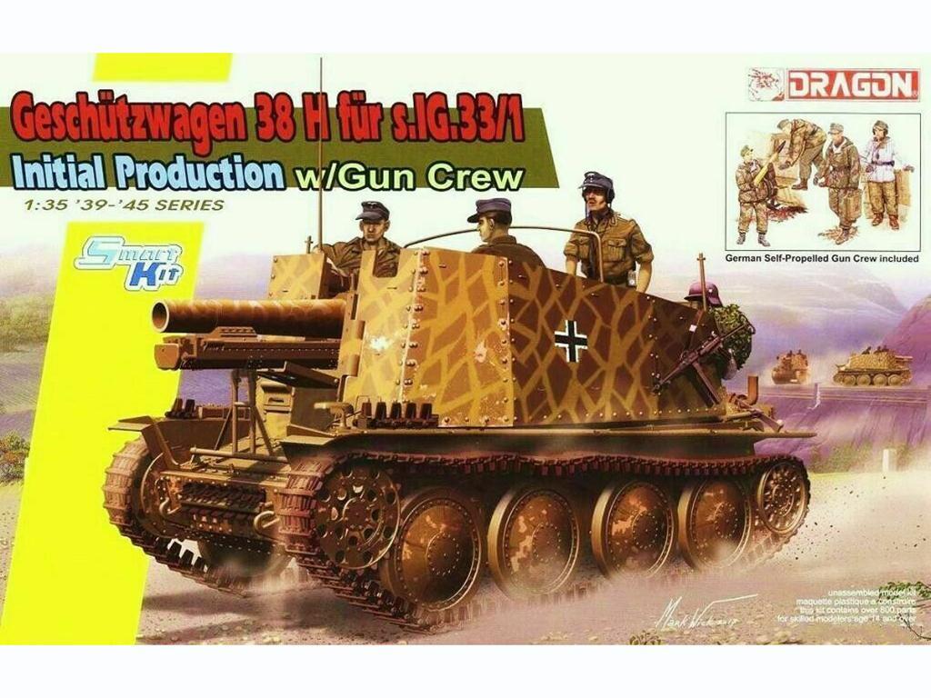 Sd.Kfz.138/1 Geschutzwagen 38 H fur s.IG  (Vista 1)