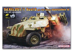 Sd.Kfz.251 Ausf.D with 28/32cm Wurfrahme  (Vista 1)