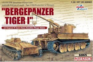 Bergepanzer Tiger I, s.Pz.Abt.508 Demoli  (Vista 1)