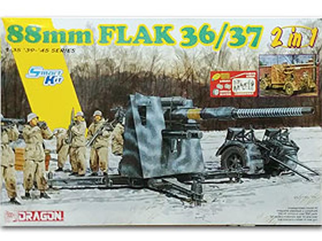 8.8cm Flak 36 / 37 2 in 1 w/bonus pack  (Vista 1)