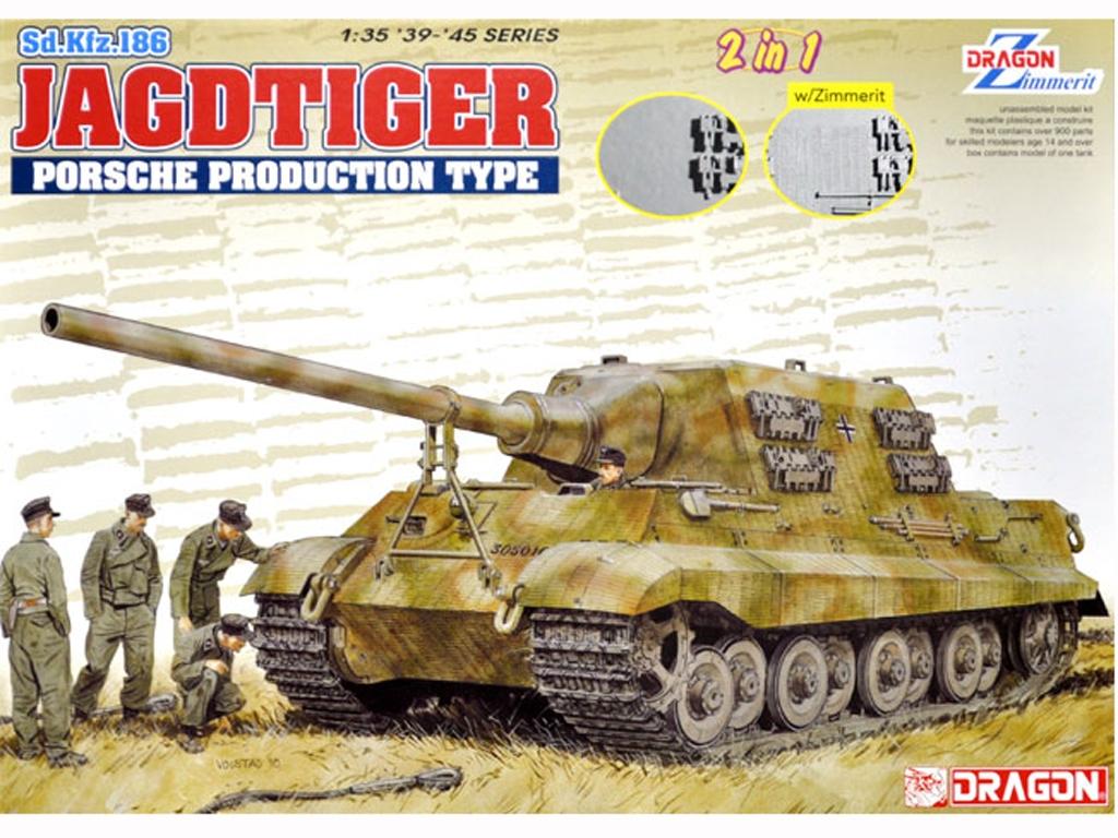 Sd.Kfz.186 Jagdtiger Porsche Production   (Vista 1)