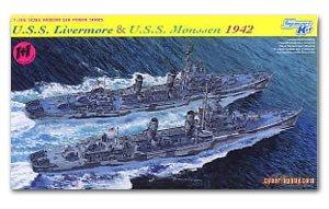 U.S.S. Livermore & U.S.S. Monssen 1942  (Vista 1)