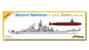 Soviet Admiral Nakhimov + USN Dallas (SS  (Vista 1)