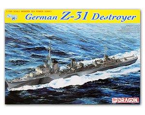 German Z-31 Destroyer  (Vista 1)