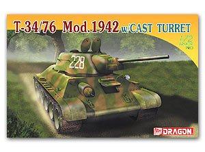 T-34/76 Mod. 1942 w/ Cast Turret  (Vista 1)