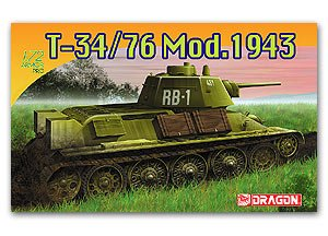 T-34/76 Mod.1943 - Ref.: DRAG-7277