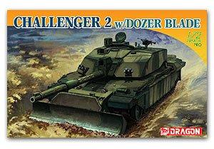 British Challenger 2 w/ Dozer Blade - Ref.: DRAG-7285