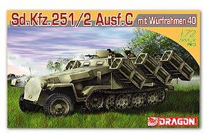 Sd. Kfz.251 Ausf. C mit Wurfrahmen 40  (Vista 1)