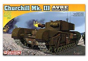Churchill Mk.III AVRE Combat Engine  (Vista 1)