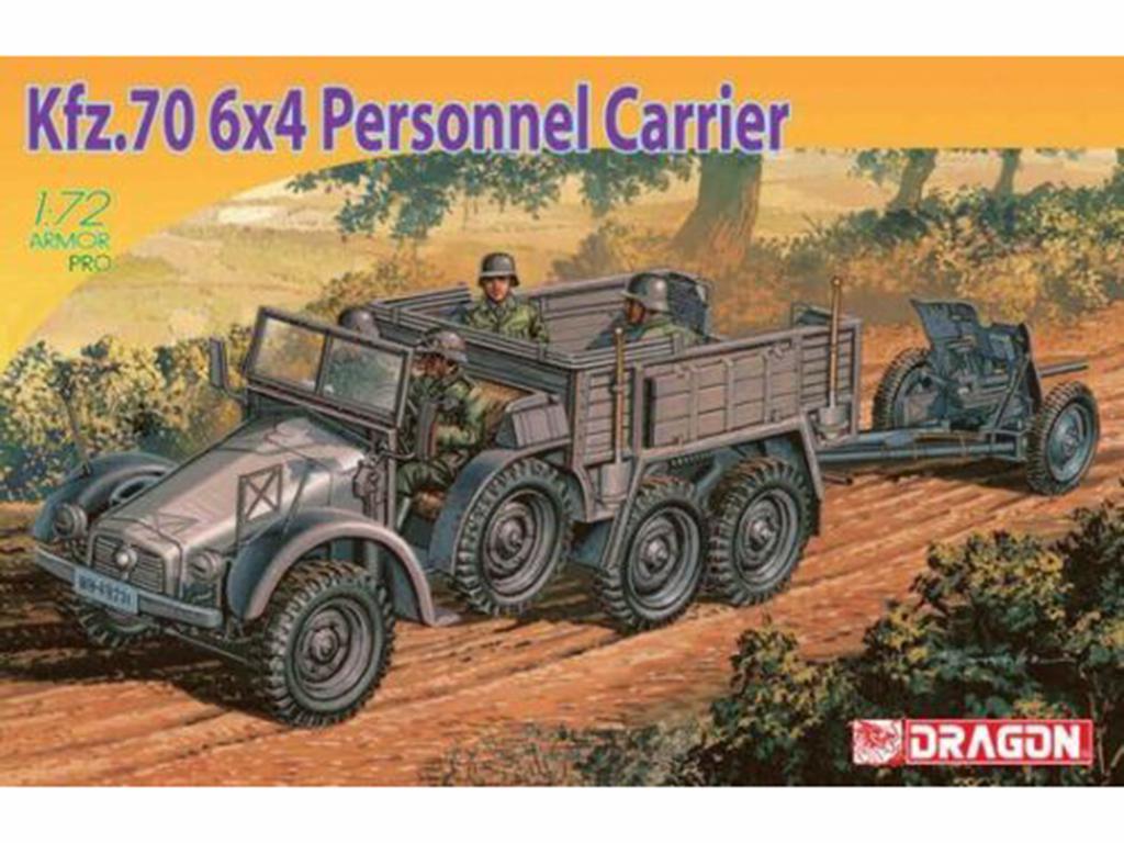 Kfz.70 6x4 & PaK 35/36   (Vista 1)