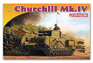Carro británico Churchill Mk. IV  (Vista 1)