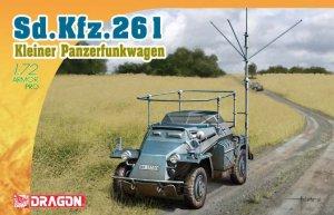 Sd.Kfz.261 Kleine Panzerfunkwagen  (Vista 1)