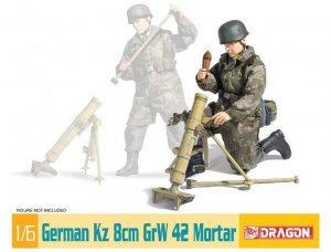 German Kz 8cm GrW 42 Mortar  (Vista 1)