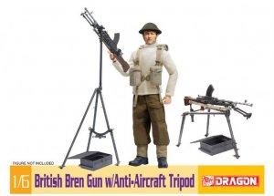 British Bren Gun w/Anti-Aircraft Tripod  (Vista 1)