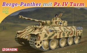 Berge-Panther mit Pz.Kpfw.IV Turm  (Vista 1)