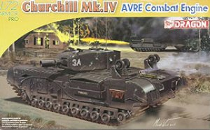 Churchill Mk.IV AVRE	  (Vista 1)