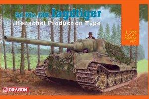 Jagdtiger Henschel Type  (Vista 1)
