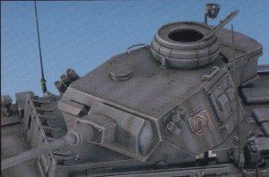 Panzer III K observación artillería  (Vista 4)