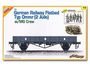 German Low Freight Wagon Biaxial Type - Ref.: DRAG-9114