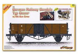German High Freight Wagon Biaxial Type - Ref.: DRAG-9115